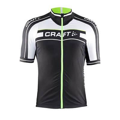 Trička Craft Cyklodres Grand Tour černá se zelenou