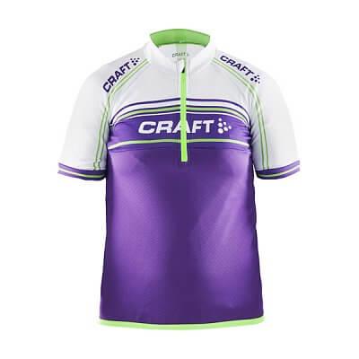 Trička Craft Cyklodres Logo fialová