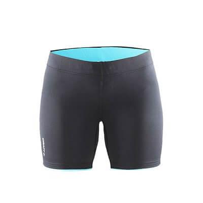 Kraťasy Craft W Kalhoty Prime Fitness černá s modrou