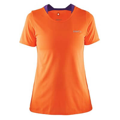 Trička Craft W Triko Joy oranžová