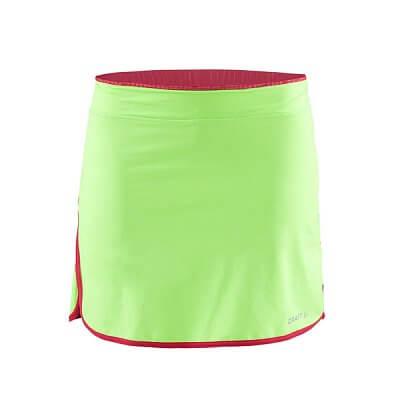 Sukně Craft W Cyklosukně Free zelená