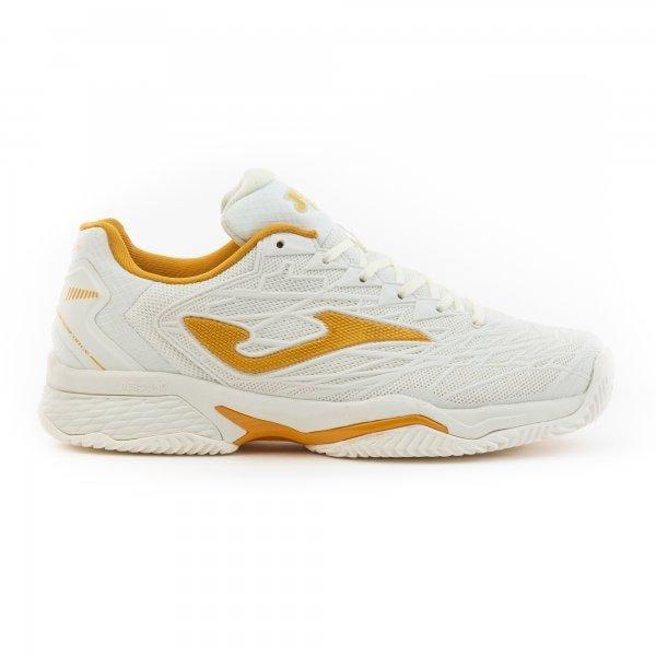 Tenisová obuv Joma T.ace Pro Lady 2002 White-Gold All Court