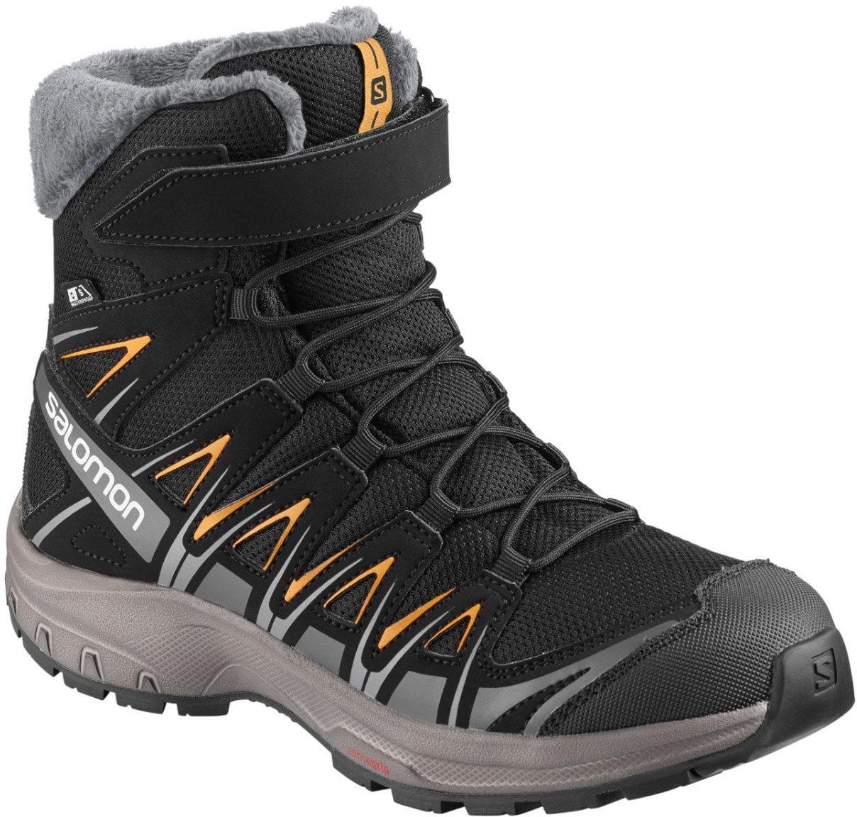 Detská zateplená turistická obuv Salomon Xa Pro 3D Winter Ts Cswp J