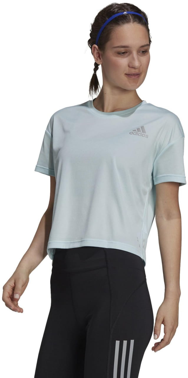 Dámské běžecké tričko adidas P.Blue Tee W