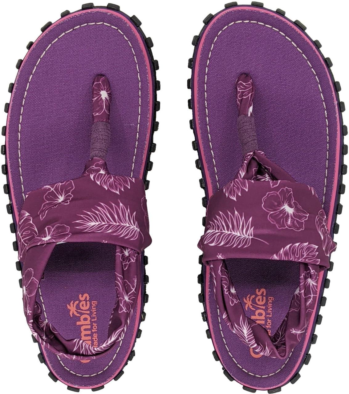 Sandále do města i do přírody Gumbies Slingback Purple