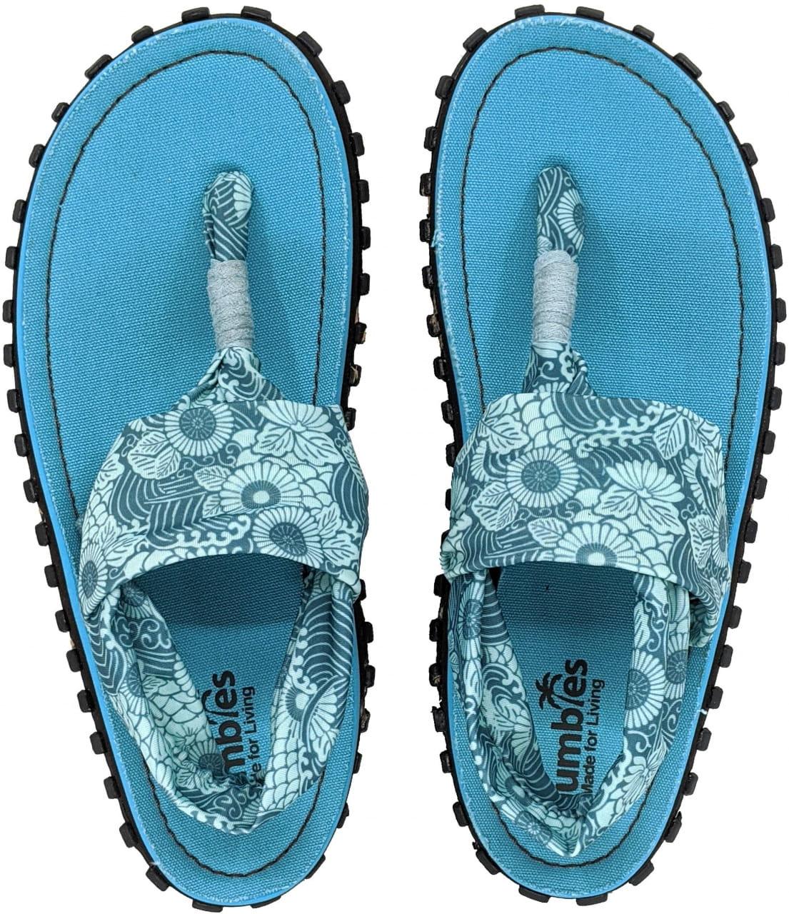 Sandále do města i do přírody Gumbies Slingback Turquoise