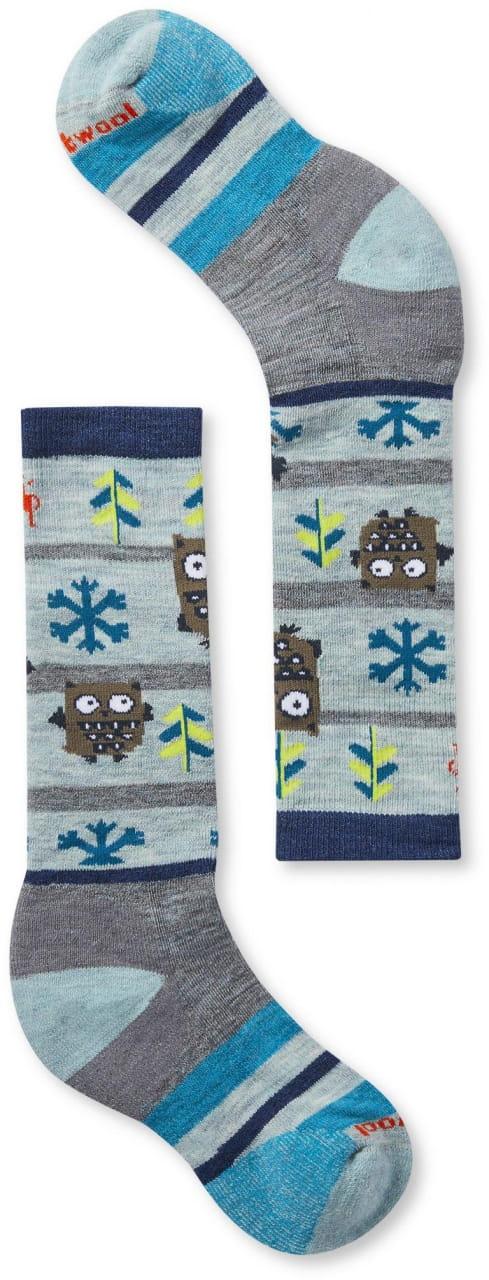 Dětské ponožky Smartwool K Wintersport Owl