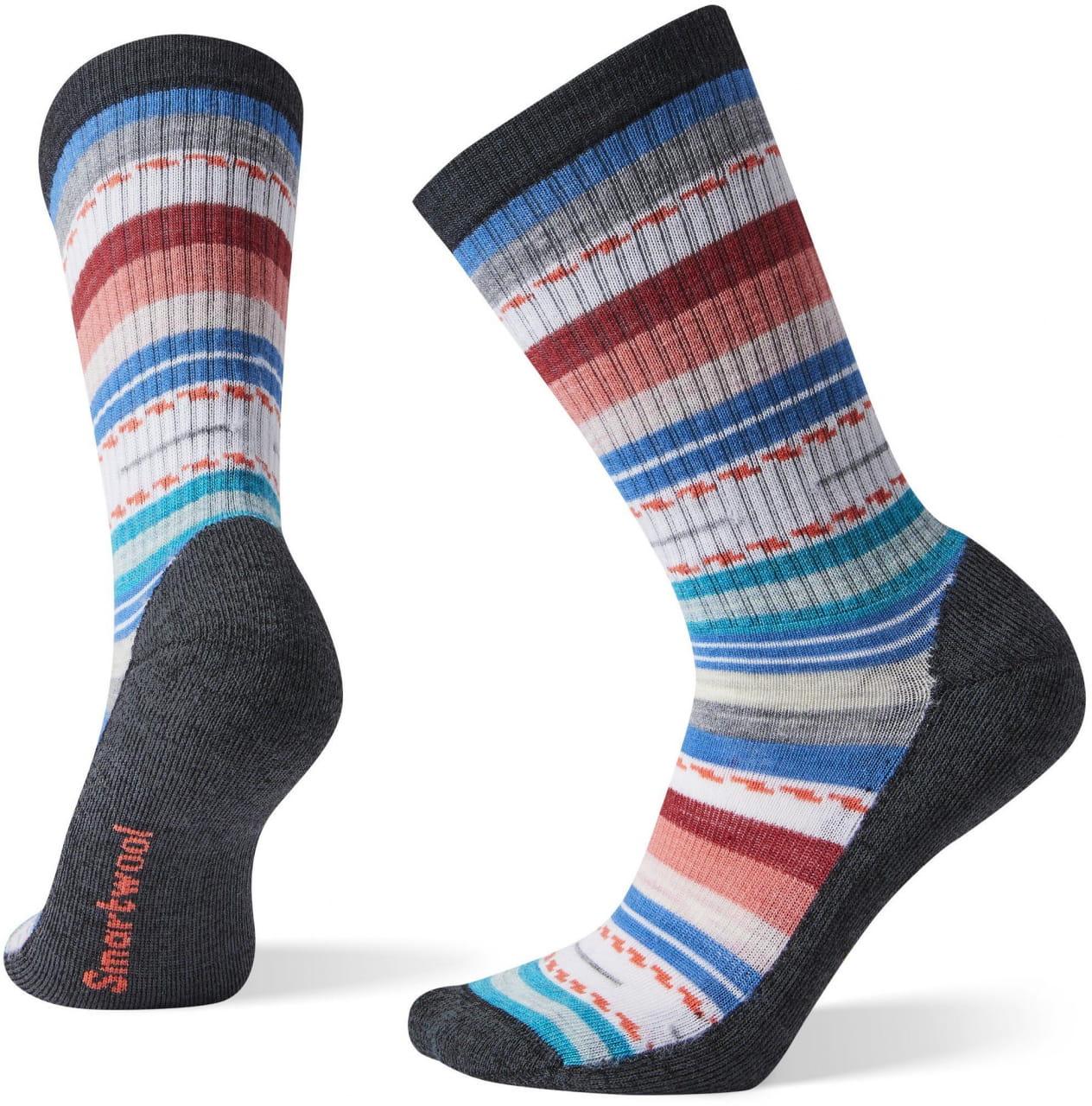 Dámské ponožky Smartwool W Hike Light Margarita Crew-Multi