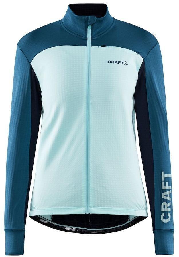 Trička Craft W Cyklodres CORE Bike SubZ LS světle modrá