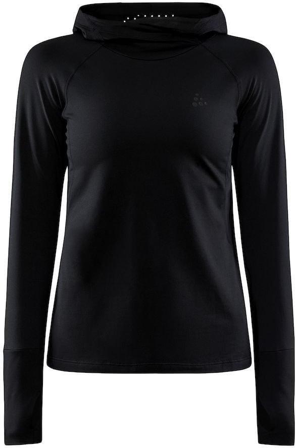 Mikiny Craft W Mikina ADV Charge Hooded Sweater černá