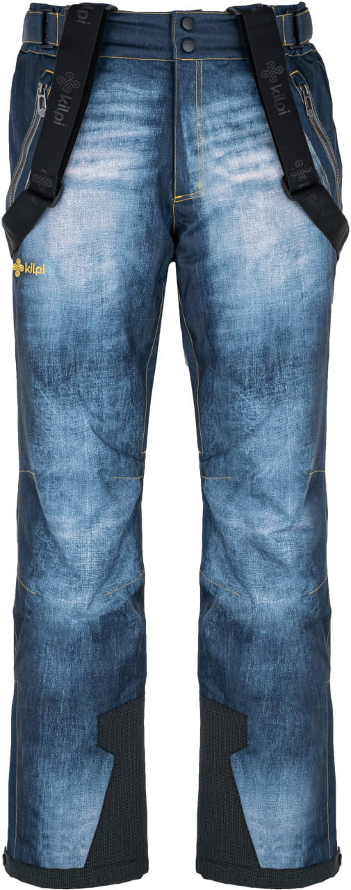 Kalhoty Kilpi Denimo Tmavě Modrá