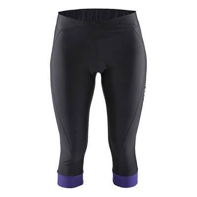 Kalhoty Craft W Cyklokalhoty Move Knickers černá s fialovou