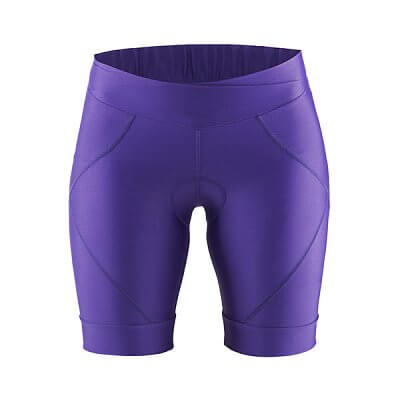 Kraťasy Craft W Cyklokalhoty Move Shorts fialová