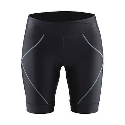 Kraťasy Craft W Cyklokalhoty Move Shorts černá