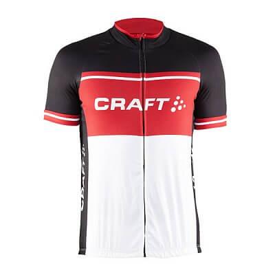 Craft Cyklodres Classic Logo černá s červenou