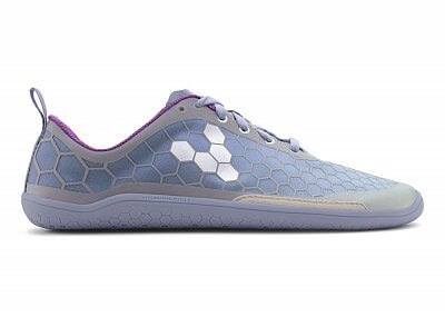 Dámské běžecké boty VIVOBAREFOOT Evo Pure BR Mesh Lilac/Grey