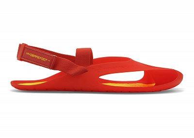 Pánské vycházkové boty VIVOBAREFOOT Achilles M II Red/Yellow