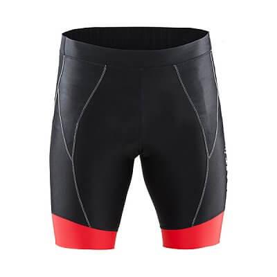 Kraťasy Craft Cyklokalhoty  Move Short černá s červenou