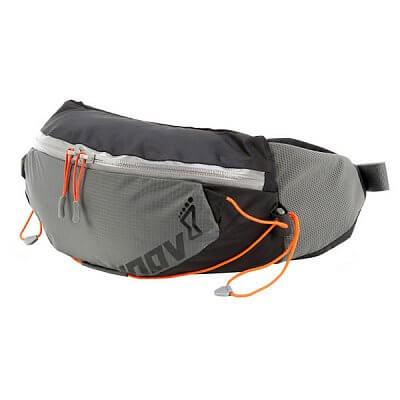 Tašky a batohy Inov-8 Ledvinka RACE ELITE 3 grey/black/orange šedá