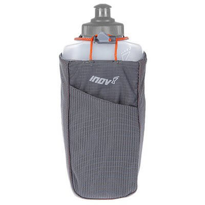 Tašky a batohy Inov-8 Držák BOTTLE HOLDER grey/orange šedá