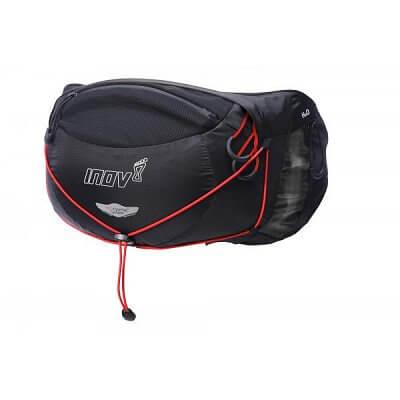 Tašky a batohy Inov-8 Ledvinka RACE PRO 3 black/red černá