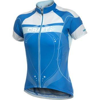 Trička Craft W Cyklodres PB Tour modrá
