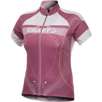 Trička Craft W Cyklodres PB Tour růžová