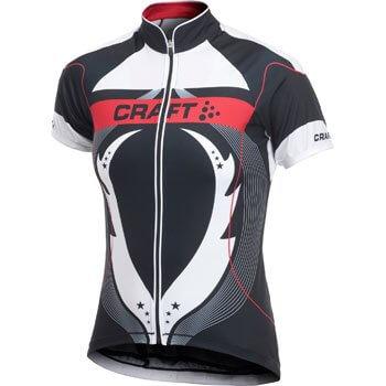 Trička Craft W Cyklodres PB Tour černá