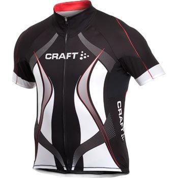 Trička Craft Cyklodres PB Tour černá