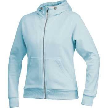 Mikiny Craft W Mikina Flex Hood Zip světle modrá