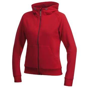 Mikiny Craft W Mikina Flex Hood Zip červená