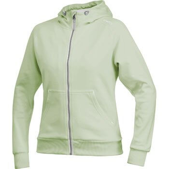 Mikiny Craft W Mikina Flex Hood Zip světle zelená