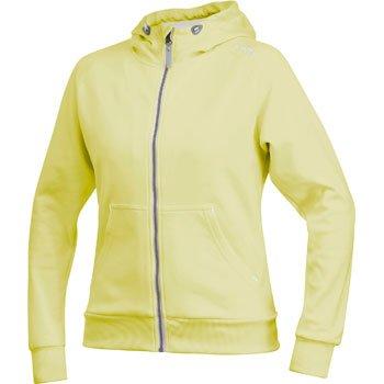 Mikiny Craft W Mikina Flex Hood Zip žlutá