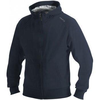Mikiny Craft W Mikina Flex Hood Zip tmavě modrá