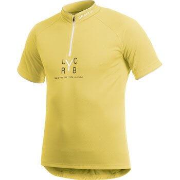 Trička Craft Cyklodres AB Lyc-Ryb žlutá