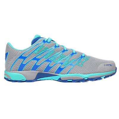 Běžecká obuv Inov-8 Boty F-LITE 249 grey/aqua/blue šedá