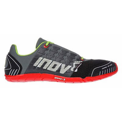 Fitness obuv Inov-8 Boty BARE-XF 210 forest/black/red/lime (S) tmavě zelená