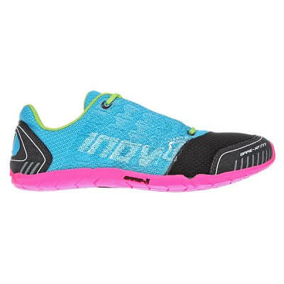 Fitness obuv Inov-8 Boty BARE-XF 177 aqua/black/pink/lime světle modrá