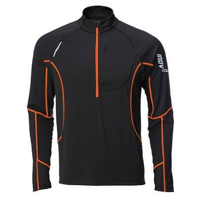 Trička Inov-8 Triko BASE ELITE 200 black/orange černá