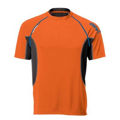 Trička Inov-8 Triko BASE ELITE 140 orange/blue oranžová
