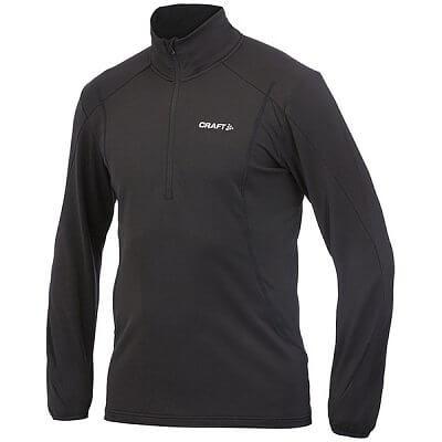 Trička Craft Rolák Lightweight Stretch Mesh Pullover černá