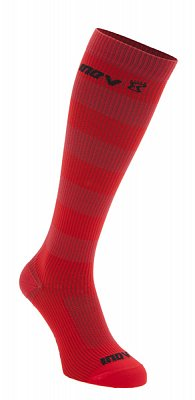 Ponožky Inov-8 Podkolenky red/red červená