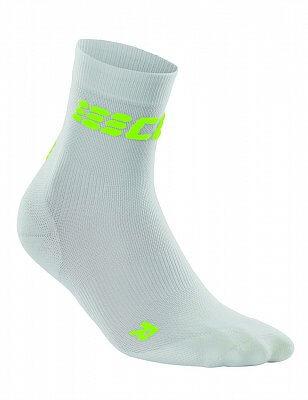 Ponožky CEP Krátké ponožky ultralight pánské III bílá / zelená