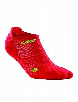 Ponožky CEP Nízké ponožky ultralight dámské II červená / zelená