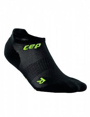 Ponožky CEP Nízké ponožky ultralight pánské černá / zelená III