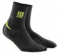 1cbfe67b9c2 CEP Ponožky s podporou kotníku dámské černá   zelená