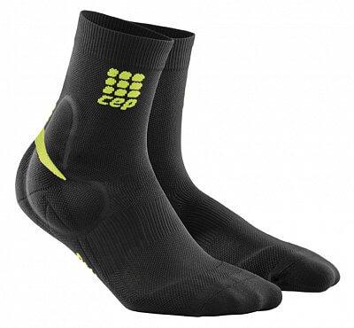 Ponožky CEP Ponožky s podporou kotníku pánské černá / zelená