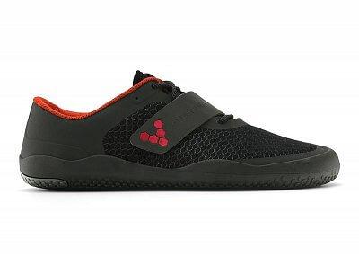 Pánská fitness obuv Vivobarefoot Motus M Mesh Black/Red