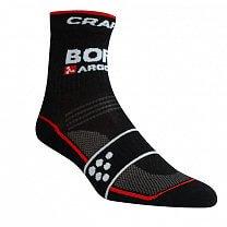 Craft Ponožky Bora Argon 18 černá