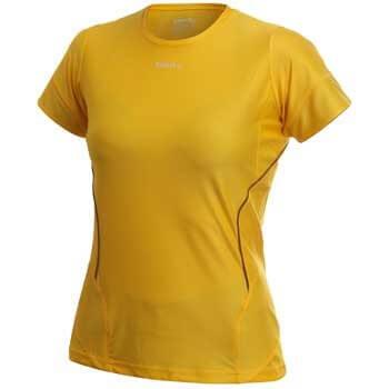 Trička Craft W Triko PR žlutá